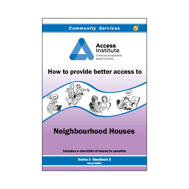 3.3 - How to provide better access to Neighbourhood Houses