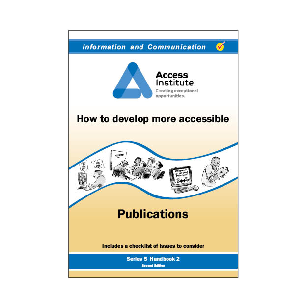 5.2 - How to develop more accessible Publications
