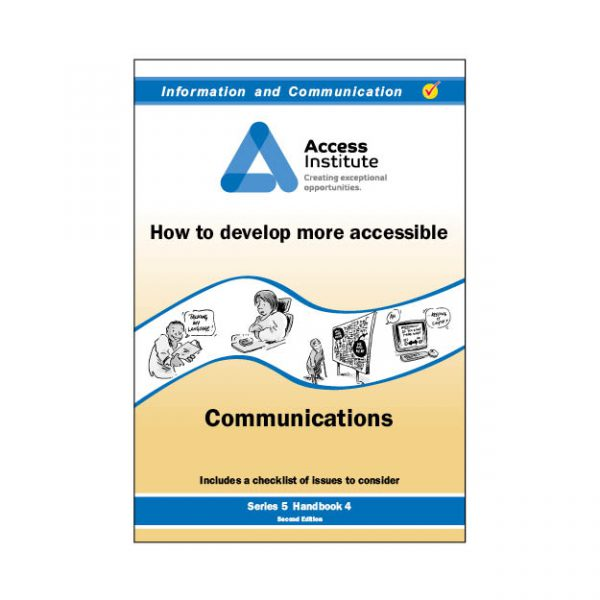 5.4 - How to develop more accessible Communications