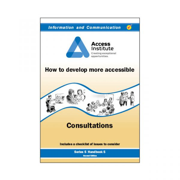 5.5 - How to develop more accessible Consultations
